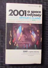 1968 2001 A SPACE ODYSSEY by Arthur C Clarke 1st Signet Paperback FVF