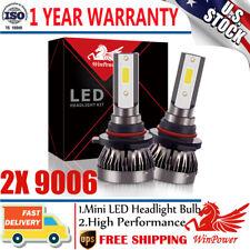 2x Mini 9006 HB4 LED Headlight Bulbs Kit Low Beam 6000K 120W 26000LM White Light