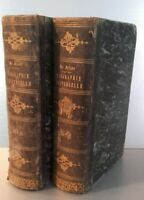 Biografía Diccionario Historia F. X De Feller T. 9 + 11 Gaume Freres París 1841