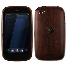 Skinomi Dark Wood Full Body Cover + Screen Protector Skin Film for HP Pre 3