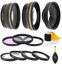 58mm Accessory Kit for Canon EOS T7i T6i T6 T6s T5i T4i T3i T2i SL1 SL2 T5 T3 XS