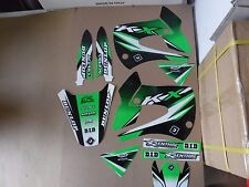 FLU DESIGNS PTS3 TEAM KAWASAKI GRAPHICS  KX85  KX100  2001-2013