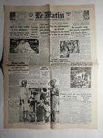N446 La Une Du Journal Le Matin 8 juin 1942 chute de tchou-tchéou