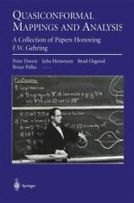 Quasiconformal Mappings and Analysis : A Collection of Papers Honoring F. W....