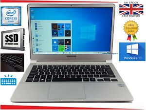 """13.3"""" Samsung NP900X ultrabook Intel i5 up to 2.3GHz 120 SSD 4GB Win 10 Laptop"""