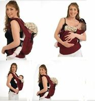 Adjustable Infant Baby Carrier Sling Newborn Kid Wrap Rider Comfort BackpackA