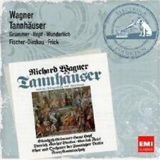 GRÜMMER/FISCHER-DIESKAU/WUNDERLICH - TANNHÄUSER 3 CD OPER KLASSIK NEU WAGNER
