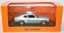Maxichamps 1/43 Scale Diecast 940 085501 - Ford Capri Mk1 1969 - Lt Blue Met