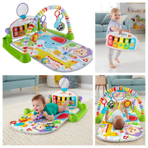 Fisher-Price Deluxe Kick And Play Piano Gym Learning Play Mat Gender Neutral