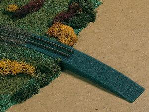 Auhagen 41198 Spur H0 Bahndammauffahrt - Schaumstoff (GP 1qm=157,84)#NEU in OVP#