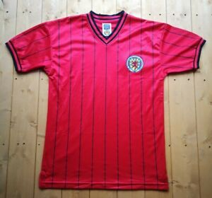 New Vintage style Scotland Football Shirt by Scoredraw. Medium.