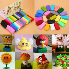 32 Colors Oven Bake Polymer Clay Block Modelling Moulding Sculpey Toys LN8