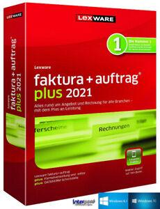 Lexware Faktura + Auftrag Plus 2021 Vollversion + Handbuch (PDF) Download NEU