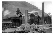 pt0488 - Marine Colliery & Coke Ovens , Cwm , Wales - photo 6x4