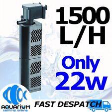 Serenity 1500lph Internal Power Filter 22w SIPF1500 Clean Aquarium Fish Tank