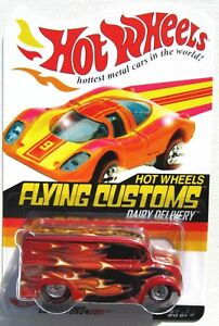 HOT WHEELS FLYING CUSTOMS DAIRY DELIVERY 3 of 4 LOW #02409/12,500