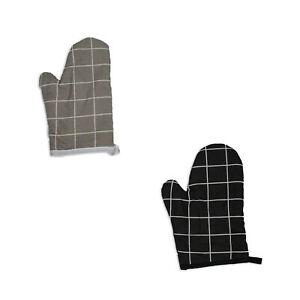 2x Topfhandschuhe Ofenhandschuhe Backhandschuhe Küchenhandschuhe Herd Grill