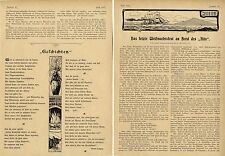 """Das letzte Weihnachtsfest an Bord der """"Iltis"""" Aus dem Seemannstagebuch 1899"""