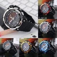 SKMEI Watch Sport Quartz Wrist Men Analog Digital LED Waterproof Military Army