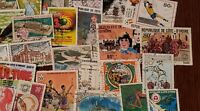 World stamps 100 differents used (Lot X3)