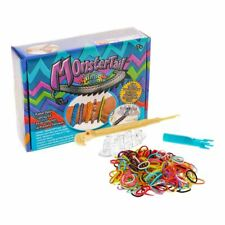 New Monster Tail Rubber Band Crafting Kit Rainbow Loom Bracelet Making Official