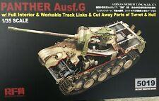 1/35 German Panther G Full Interior/Working Tracks/Cut Away * Rye Field RFM5019