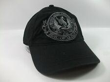 Roper Apparel & Footwear Seal of Quality Hat Black Hook Loop Baseball Cap