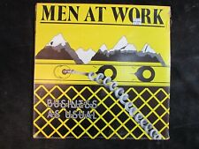MEN AT WORK Buiness as usual US ORIGINAL LP Down Under/Who Could it be *SEALED*