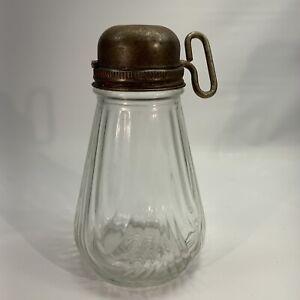 Vintage Retro Nut & Herb Chopper Grinder Tool/Gadget, With Glass Jar Base