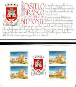 Portugal 1986 Castles, Belmonte,, Complete Booklet UNM / MNH