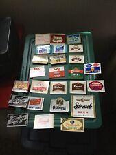 25 Assorted Beer Bottle Labels