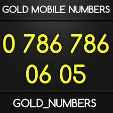 EASY 786 GOLD MOBILE 786786 NUMBER 786 786 VIP NUMBER 07867860605