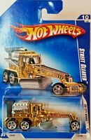 2009 Hot Wheels Street Cleaver Col. #116 Gold Version 10/10