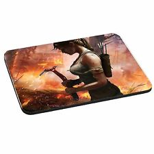 Tomb Raider Lara Croft, 5mm Thick Rectangle Mouse Mat/Pad