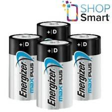 4 ENERGIZER MAX PLUS D LR20 BATTERIES ALKALINE 1.5V MONO R20 MN1300 AM1 E95 NEW