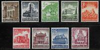 Sc B177 - B185 - Germany - 1940 - Castles Architecture- MNH - superfleas - cv$37