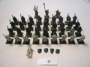 40 X Bretonnian Men At Arms - Warhammer Fantasy - Models + Command Group - Lot