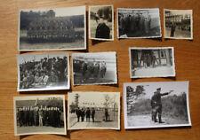 Nachlass 10 Fotos frühe Polizei 40/50iger Jahre