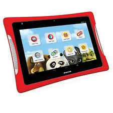 Nabi DreamTab HD8 16GB 8in Wi-Fi Android Kids Tablet with Red Bumper Case Bundle