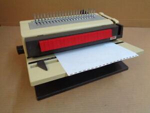 GBC 450-KM-2 Heavy Duty Plastic Comb Binding Machine