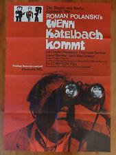 Roman Polanski WENN KATELBACH KOMMT  Plakat Kinoplakat