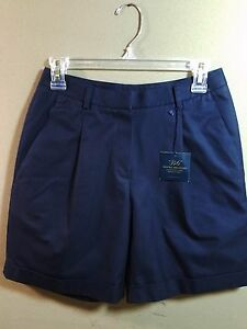 Brooks Brothers Shorts Navy Size 2 Chino Advantage Wrinkle Free MSRP $69 New