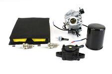 Kit Carburetor & Fuel Pump Fits GX610 GX620 Air Oil & Fuel Filter Spark Plugs