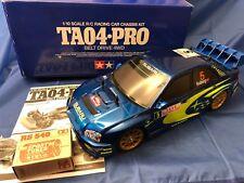 Tamiya Vintage Subaru Impreza TA04 Pro (58261)  1:10 RC  New Build