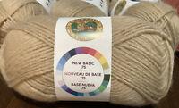 Lion Brand New Basic 175, Cafe Au Lait, Med Wght(4), 25% Wool