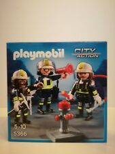Playmobil 5366 *NEW* - City Action Fire men with post (MISB, NRFB, OVP)