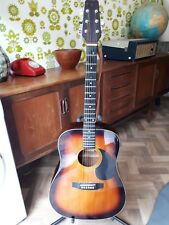 Brunswick Acoustic Guitar with Stand, Case/Bag, Capo, Slide and More!