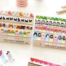 Cute Animals kawaii Sticky Notes Post-it book Page marker memo tab stickers UK