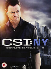 CSI NEW YORK COMPLETE SEASON 1-9 DVD Series 1 2 3 4 5 6 7 8 9 UK New Sealed R2