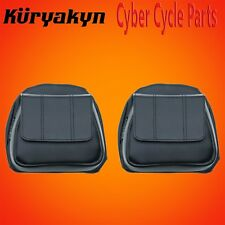 Kuryakyn Black Fairing Lower Door Pockets For Harley Davidson 5208